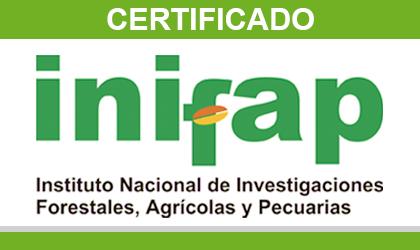 Certificado INIFAP