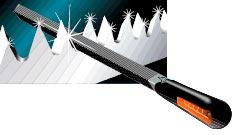 Bahco - Diseño de dientes afilables con lima